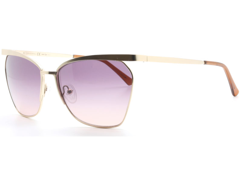 Occhiali da sole Oria oro/viola_rosa